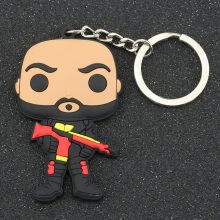 Suicide Squad Characters Keychain